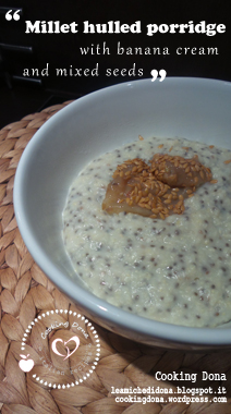 millet-hulled-porridge-with-banana-cream-mixed-seeds-cooking-dona