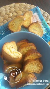 Biscotti di pan di spagna