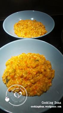 Risotto minestrone e formaggio